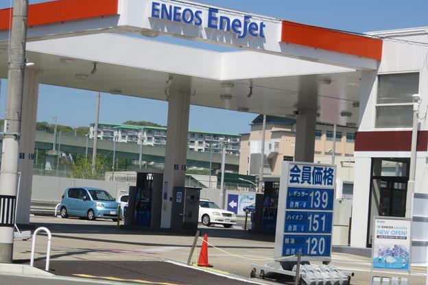 ガソリンスタンド ENEOS