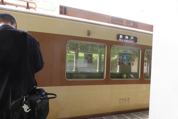 名谷駅2番ホーム 名谷始発_04