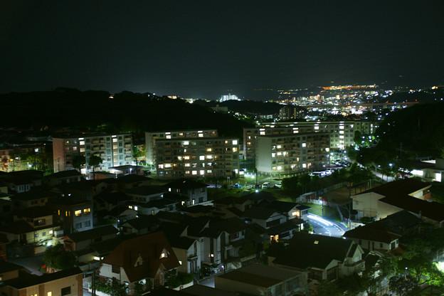 名谷の夜の街並み_02