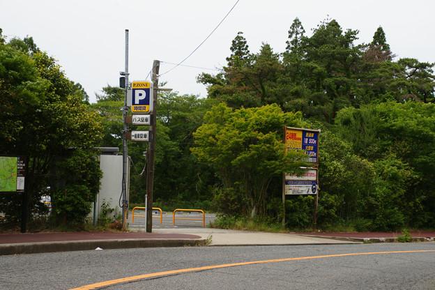 天上寺前駐車場