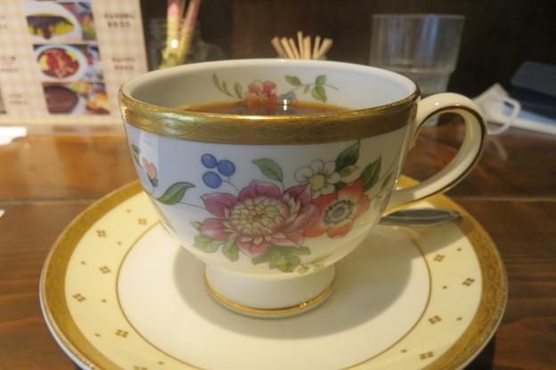 コールマン 花のコーヒーカップ_02