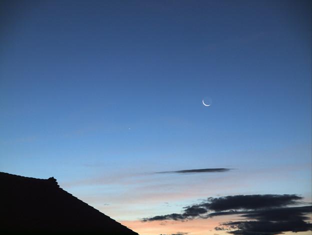 Photos: 水星と月_8878p