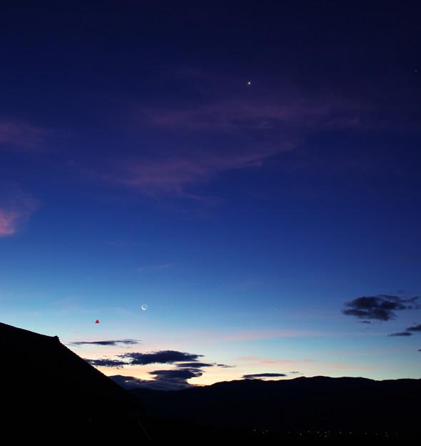 Photos: 水星と月_3996put