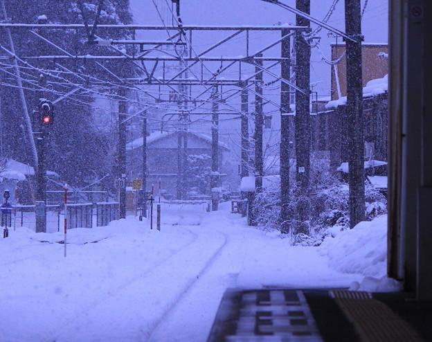 Photos: 列車を待つ駅