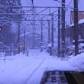 列車を待つ駅