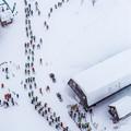写真: Skiing in Japan