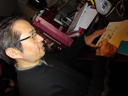 下村健一氏にサインを貰う