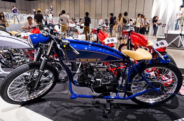 謎の男 #003 SNAKE MOTORS K-16_ブルー