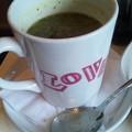 写真: ほうれん草のスープ