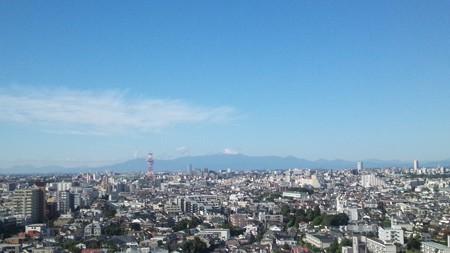東京から望む富士