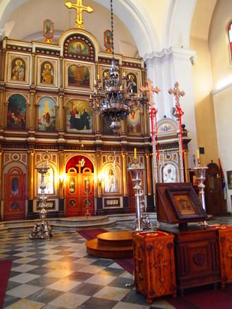 聖ルカ教会教会内