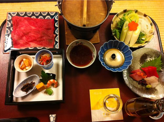 130126すぎ山の会席料理