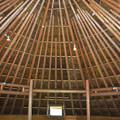 Photos: 竪穴建物の内部(鉄器工房内の復元)