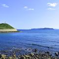 Photos: 由良海岸から紀淡海峡を見る