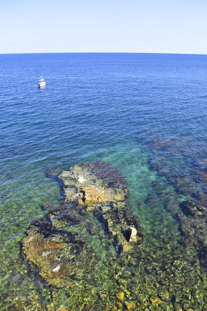 古茂江の海