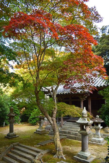 秋の成相寺