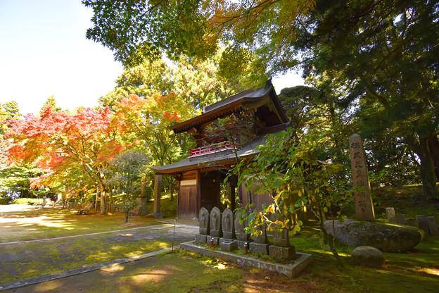 秋の常隆寺