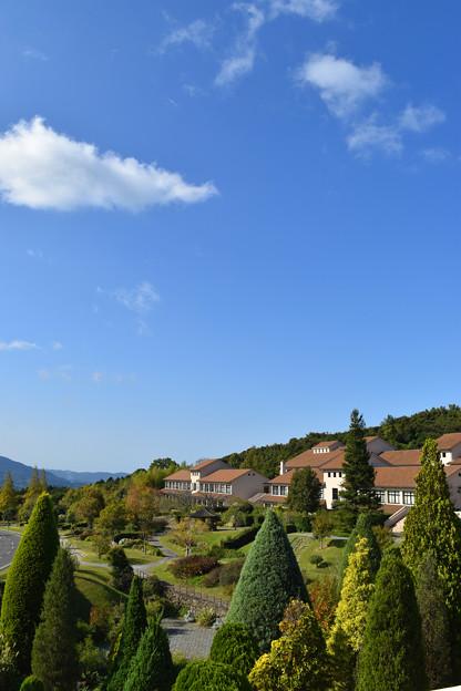淡路景観園芸学校のキャンパス