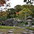 秋の益習館庭園03