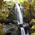 新緑の「鮎屋の滝」