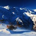 写真: 白馬三山
