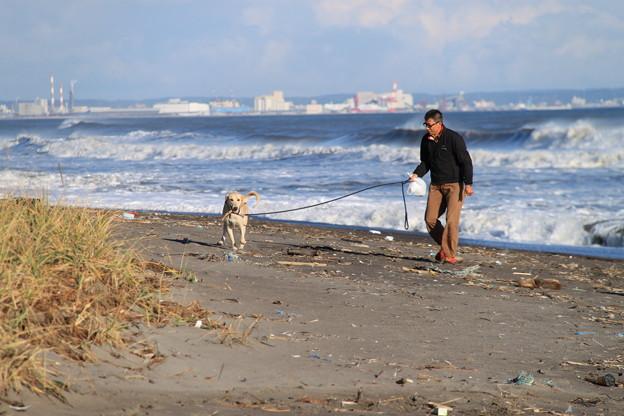 浜辺の散歩^^