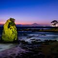 写真: 自然のキャンドル岩