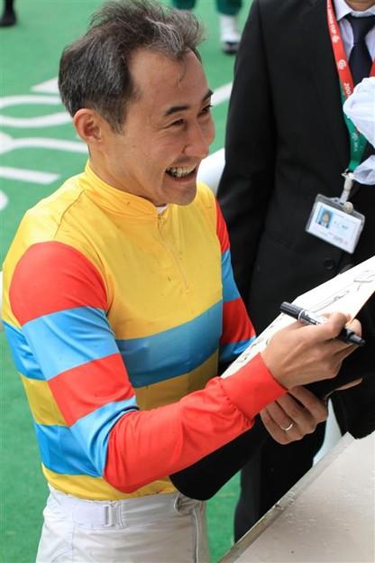 北沢 伸也 騎手2(秋陽ジャンプ...