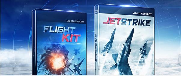 (转载)AK电影级别战斗机模型包Videocopilot–JetStrike&FlightKit