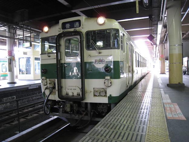 烏山線 キハ40形 宇都宮駅