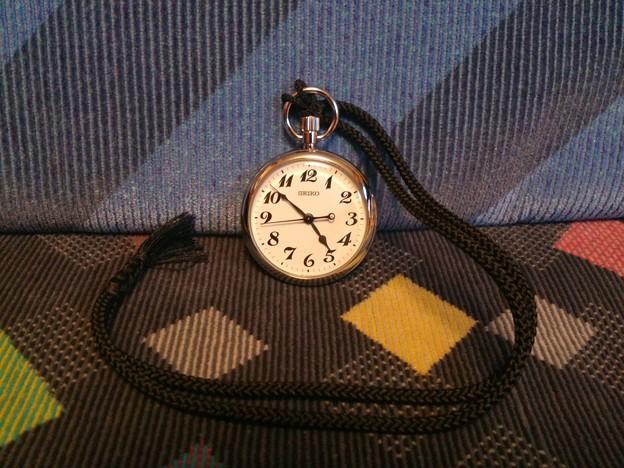 セイコー鉄道時計