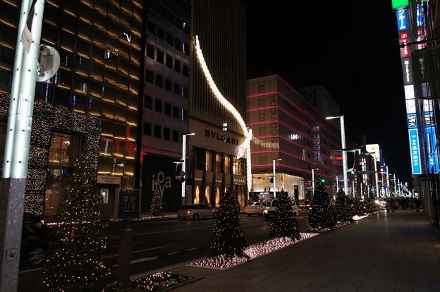 2012末 銀座夜景