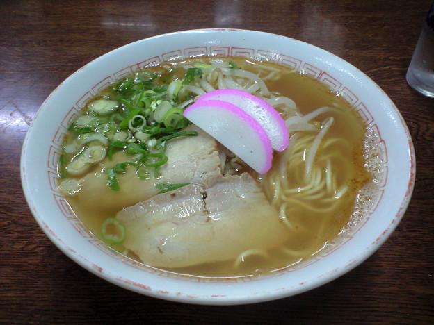 086「赤井食堂」ラーメン