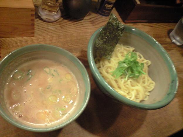035-3「麺処三鈷峰」えびつけ麺