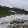 雪渓近景4