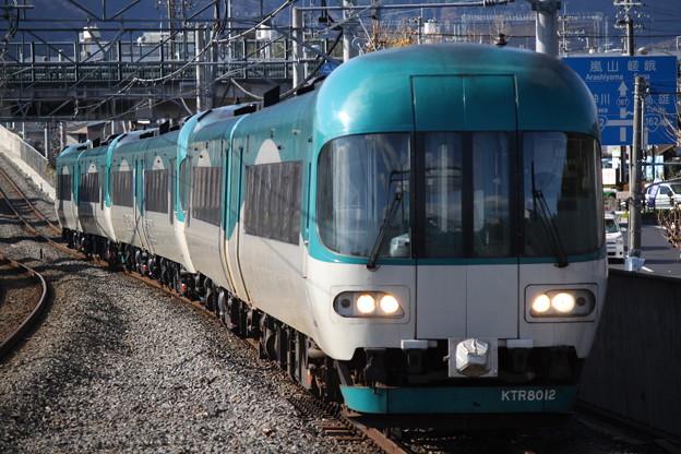 北近畿タンゴ鉄道KTR8000形 KTR8012+KTR8011 タンゴディスカバリー