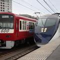 京急600形 603F(西武鉄道ラッピング車)・京成AE形 AE1F