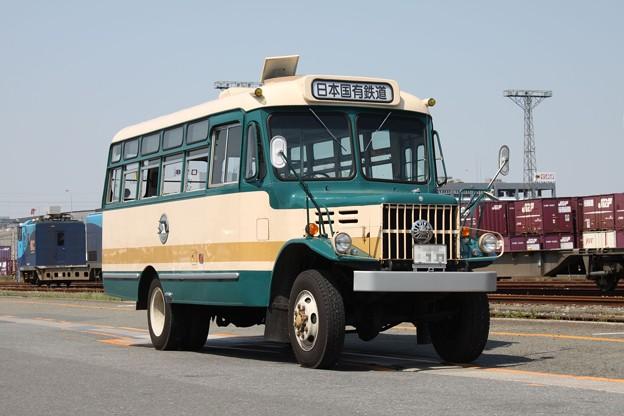 旧国鉄バス塗装 いすゞTSD40(日本国有鉄道表示)