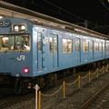 Photos: 奈良線103系 NS415編成(スカイブルー)