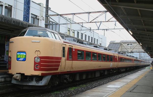 辰野経由・特急あずさ(辰野駅)2
