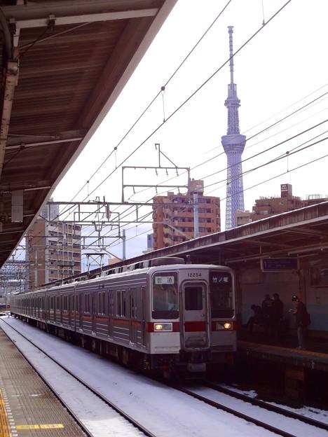 東向島駅と東京スカイツリー