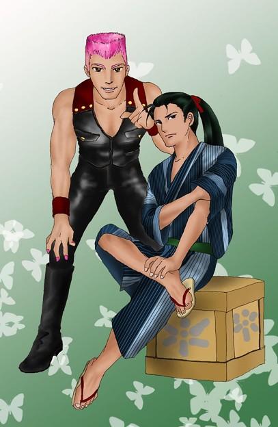 写真: 「温度屋の美鳥さん」の蓮さんとシンシアちゃん
