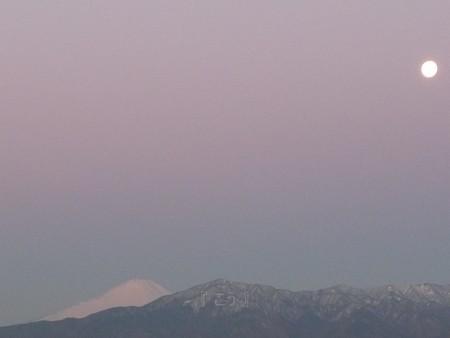 130129-富士山とお月さん (2)