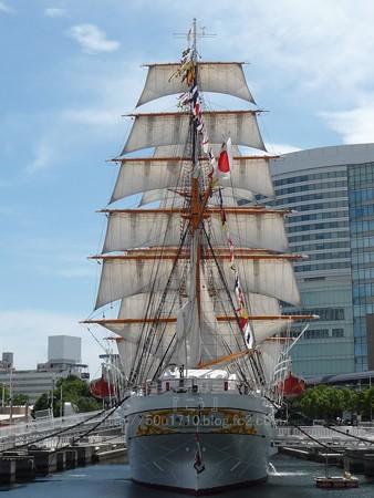 130715-帆船日本丸 総帆展帆 (33)