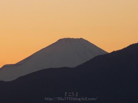 140119-富士山(夕) (2)