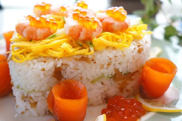 写真: ちらし寿司