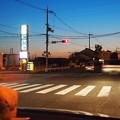 Photos: 車内からの夕焼け