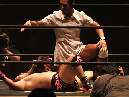 DDT 武道館ピーターパン 〜DDTの15周年、ドーンと見せます超豪華4時間SP!〜  日本武道館 (3)