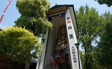 2013年4月29日撮影 櫛田神社の飾り山笠 高画質 写真 画像