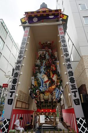 09 博多祇園山笠 2013年 中洲流 飾り山 関ケ原合戦 写真03